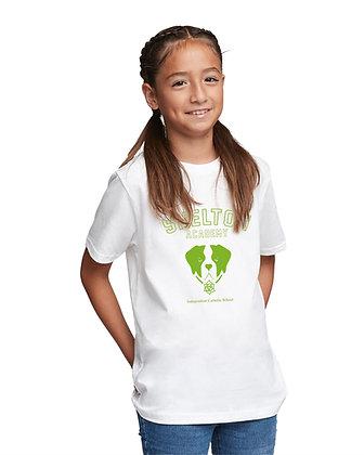 Shelton Academy - Barry Kids Tee - WHITE