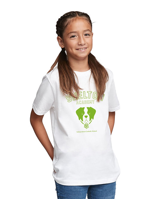Shelton Academy - Barry Kids Tee - WHITE