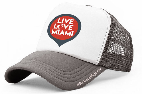 Live Love Miami Trucker Cap