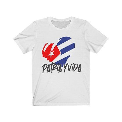 Cuba Patria y Vida T-shirt | Cuba Libre Tee | Cuban tshirt for men and woman