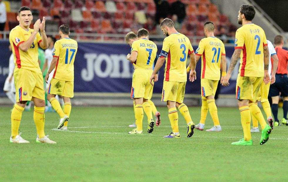 Romanian Ukranian soccer jerseys