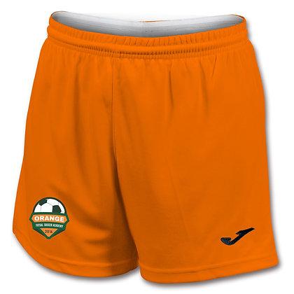 Orange Home Short -GIRLS