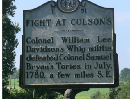 This Day in History: Patriots win the Battle of Colson's Mill