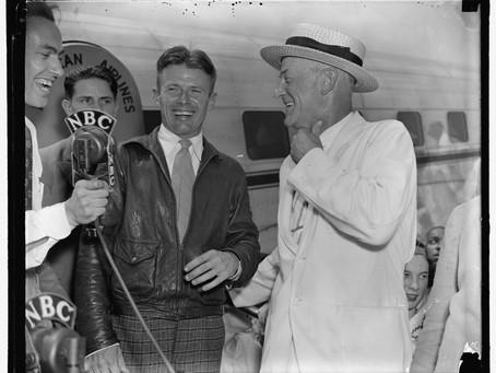 "This Day in History: Douglas ""Wrong Way"" Corrigan's trans-Atlantic flight"