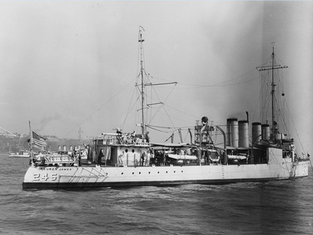 This Day in History: USS Reuben James, first warship lost in World War II
