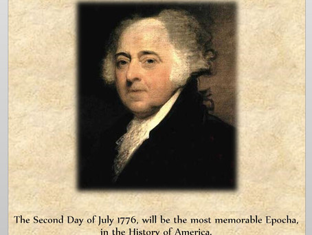 This Day in History: Happy 2nd of July! (Or so John Adams thought.)