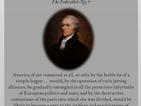 The Federalist Papers: No. 7