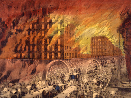 This Day in History: The Great Chicago Fire
