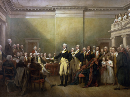 This Day in History: General George Washington resigns