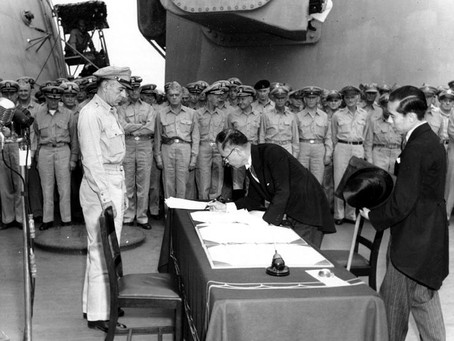 This Day in History: V-J Day effectively ends World War II