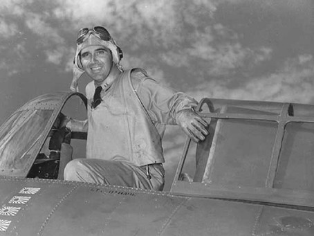 This Day in History: Butch O'Hare, the Navy's first flying ace during WWII
