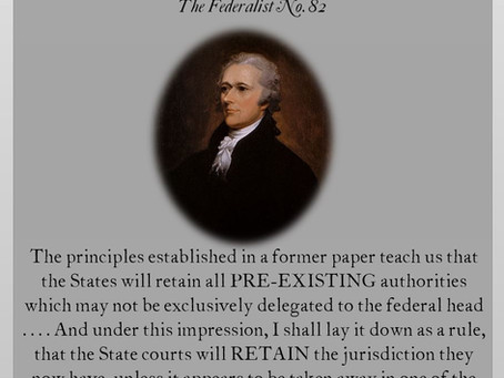 The Federalist Papers: No. 82