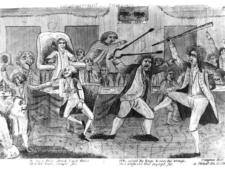 This Day in History: A brawl in Congress