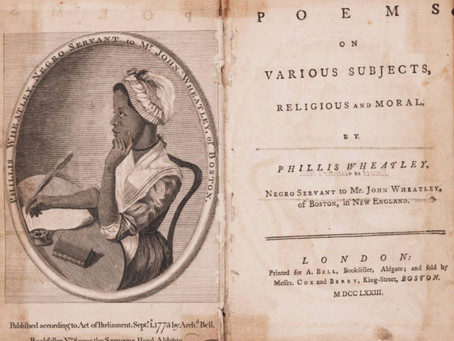 This Day in History: Phillis Wheatley, first black American to publish a book of poetry
