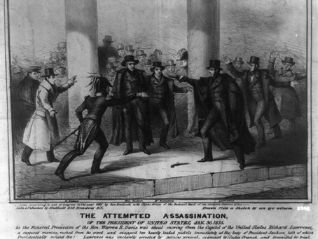 This Day in History: The attempted assassination of President Andrew Jackson