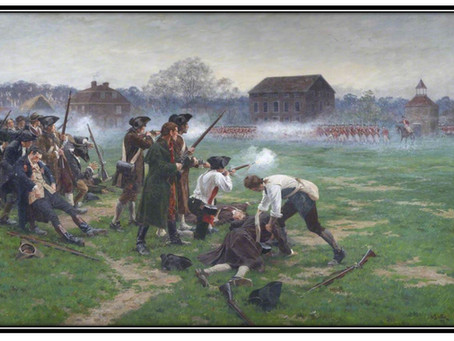 "This Day in History: The ""Shot Heard Round the World"" is fired at Lexington Green"