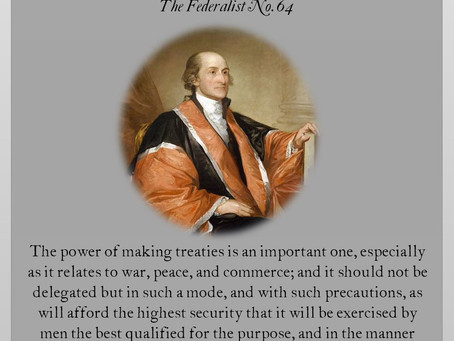 The Federalist Papers: No. 64