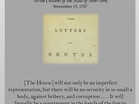 The Anti-Federalist Papers: Brutus III