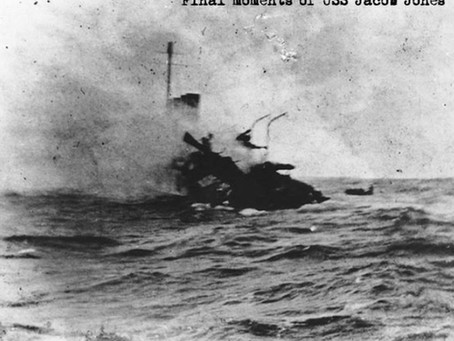 This Day in History: USS Jacob Jones is torpedoed by a German submarine