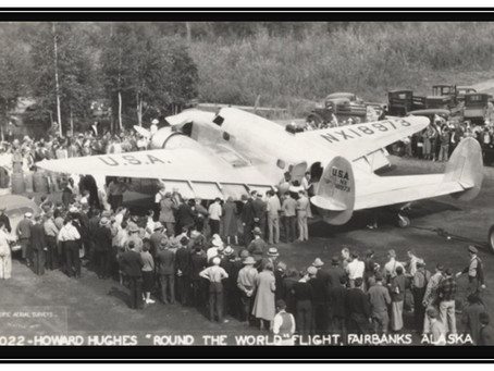 This Day in History: Howard Hughes flies around the world