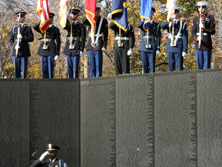 This Day in History: The Vietnam Veterans Memorial is dedicated