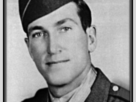 """This Day in History: Herschel """"Pete"""" Briles rescues two men from a burning tank"""