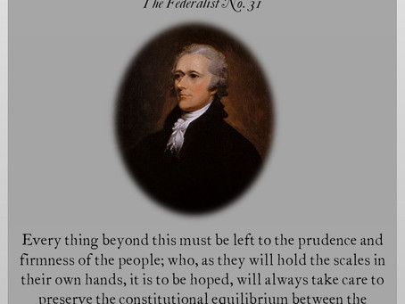 The Federalist Papers: No. 31