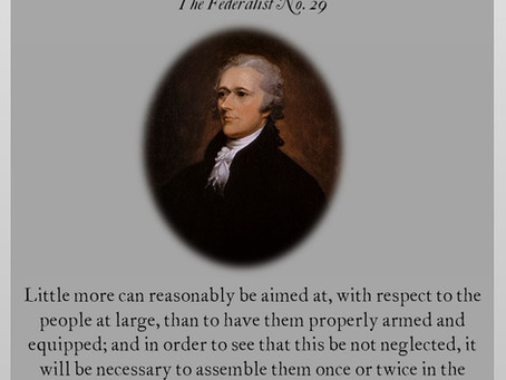 The Federalist Papers: No. 29