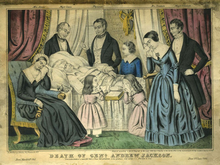 This Day in History: Andrew Jackson passes away