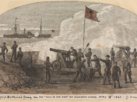 This Day in History: The first shot of the Civil War, sort of