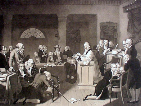 This Day in History: The first Continental Congress opens in prayer