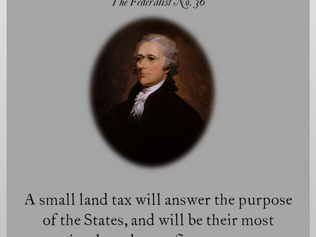 The Federalist Papers: No. 36