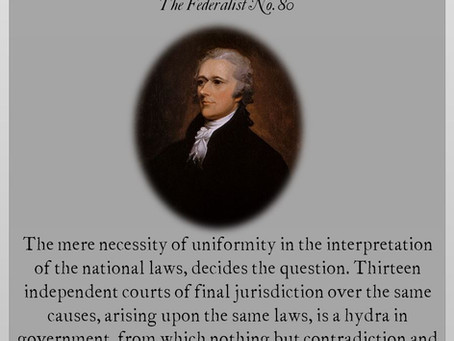 The Federalist Papers: No. 80