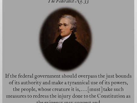 The Federalist Papers: Nos. 32 & 33