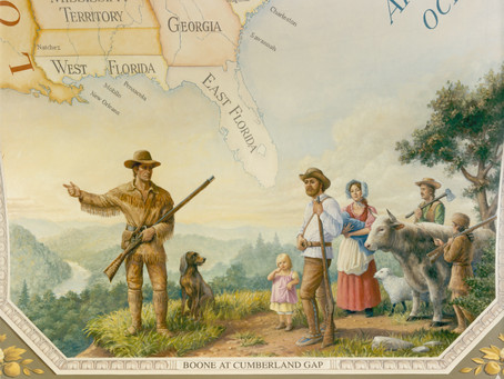 """This Day in History: Daniel Boone explores the territory in """"Kentucke"""""""