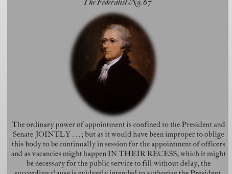 The Federalist Papers: No. 67