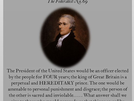 The Federalist Papers: No. 69