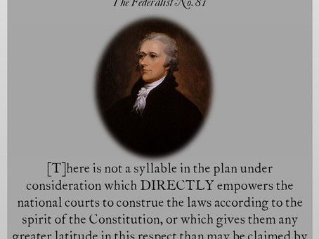 The Federalist Papers: No. 81