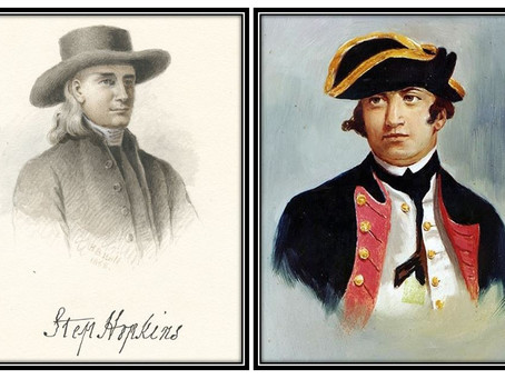This Day in History: Esek & Stephen Hopkins, two brothers who served the Patriot cause