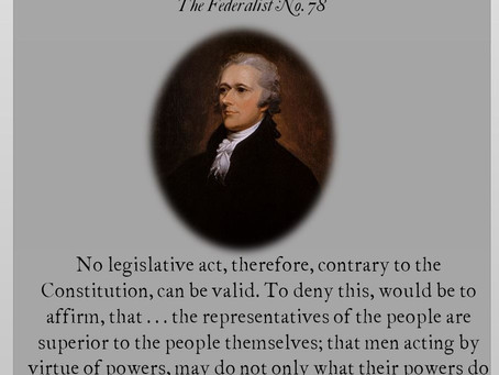 The Federalist Papers: No. 78