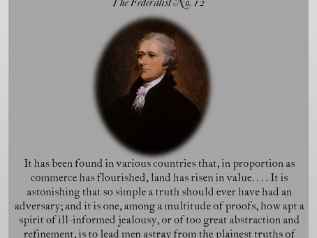 The Federalist Papers: No. 12