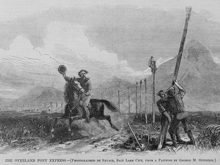 This Day in History: The end of the Pony Express