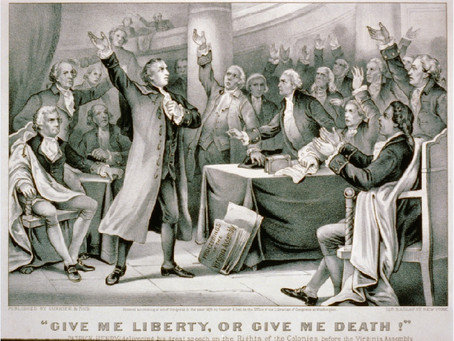 "This Day in History: ""Give me liberty or give me death!"""