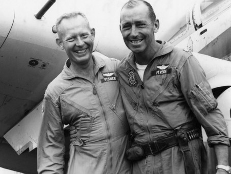 This Day in History: Major Bernard Fisher saves a fellow pilot