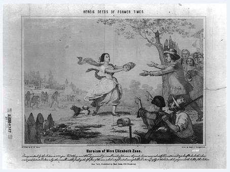 This Day in History: Betty Zane's daring dash for gunpowder saves Ft. Henry