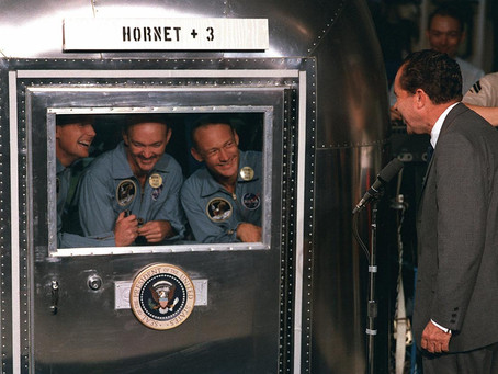 This Day in History: Apollo 11's crew, released from quarantine