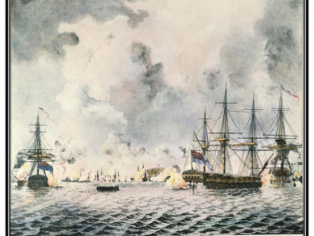 This Day in History: The failed British attack on Fort Mifflin