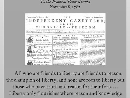 The Anti-Federalist Papers: Centinel III
