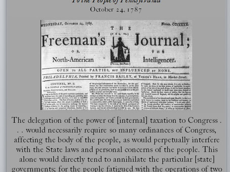 The Anti-Federalist Papers: Centinel II
