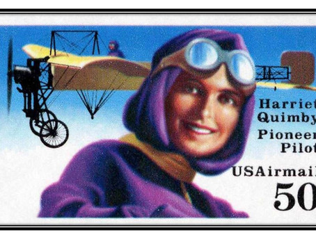 This Day in History: Harriet Quimby, the woman who inspired Amelia Earhart